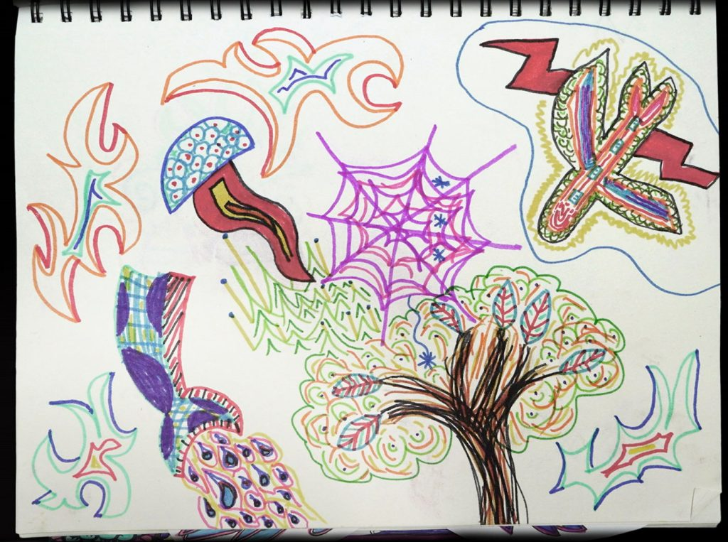 artwork: Tree of Life Magic Mushrooms