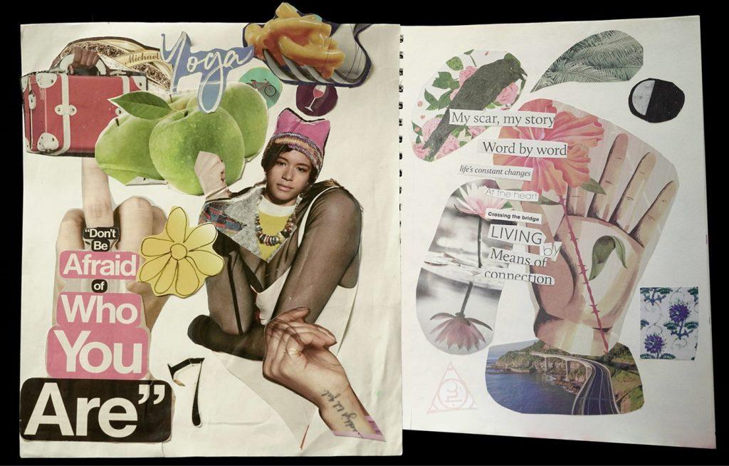 collage artwork: Untitled